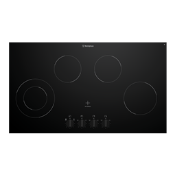 90cm 4 zone ceramic cooktop
