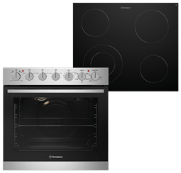 60cm multifunction 5 oven with ceramic cooktop