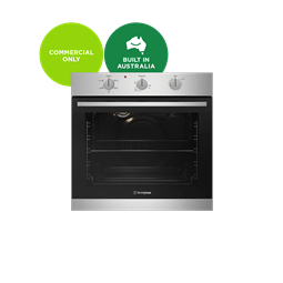 60cm multi-function 5 oven, stainless steel