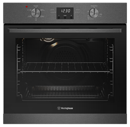 60cm multi-function 5 oven, dark stainless steel