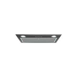 52cm integrated rangehood, dark stainless steel