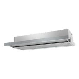 90cm slide out rangehood, stainless steel