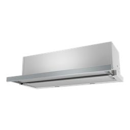 90cm slide-out rangehood, stainless steel