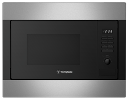 25L built-in microwave, stainless steel