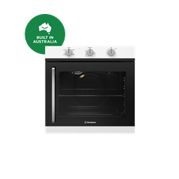 60cm multi-function 5 oven with side opening, white