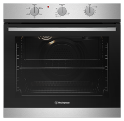 60cm multi-function 5 gas oven, stainless steel