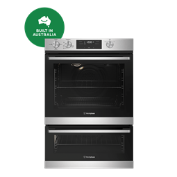 60cm multi-function 3 gas oven with separate grill, stainless steel