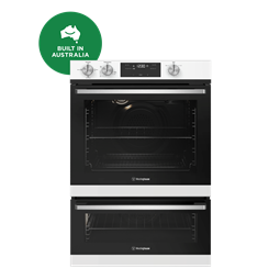 60cm multi-function 3 gas oven with separate grill, white
