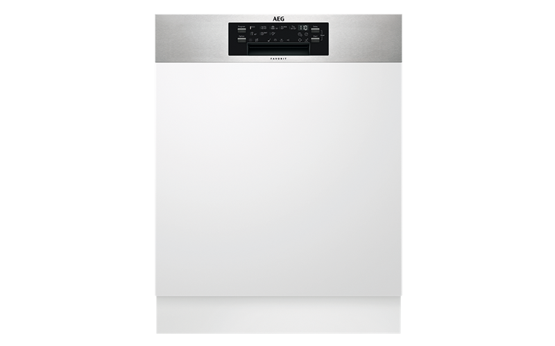 AEG 60cm semi-integrated dishwasher FEE83701PM