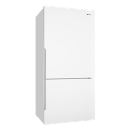 528L White bottom mount fridge