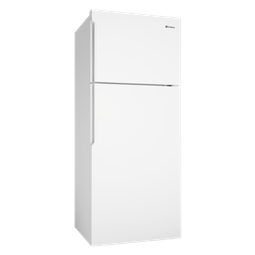 460L White top mount fridge