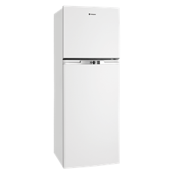 340L White top mount fridge