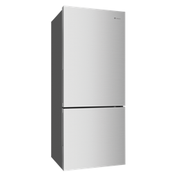 453L Silver bottom mount refrigerator