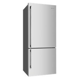 453L Stainless steel bottom mount fridge