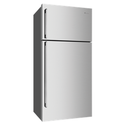 536L Stainless steel top mount fridge