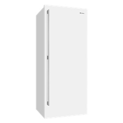 501L White single door fridge