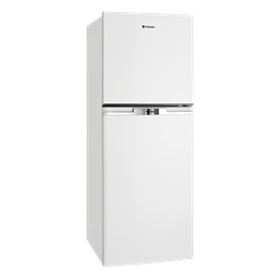 250L White top mount fridge