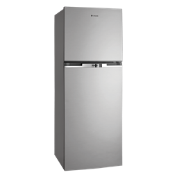 280L Silver top mount fridge