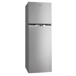 370L Silver top mount fridge