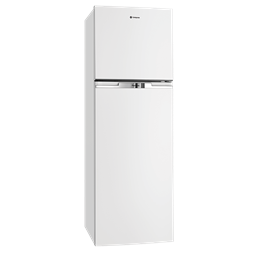 370L White top mount fridge