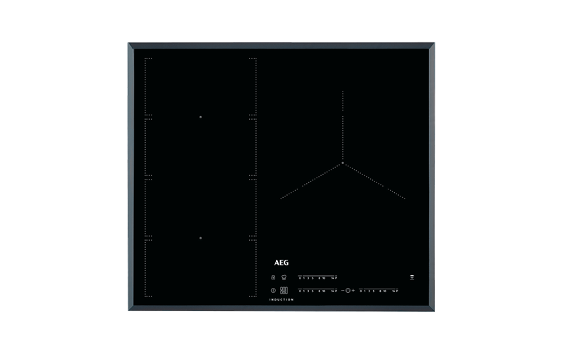 AEG 60cm 3 zone induction cooktop with ProCook & FlexiBridge IKE63471FB