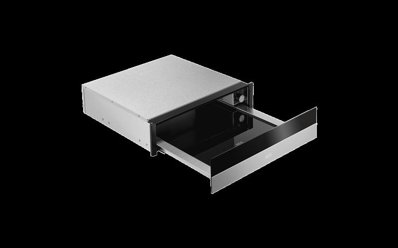 AEG 14cm built-in warming drawer, stainless steel KDK911424M