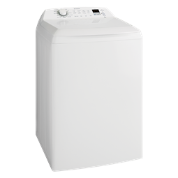 9kg top load washing machine, Daily 45 program