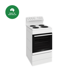 54cm electric freestanding cooker, white