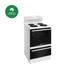 60cm electric freestanding cooker, white