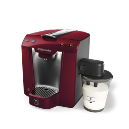 Lavazza A Modo Mio Premium Milk By Electrolux In Metallic Red