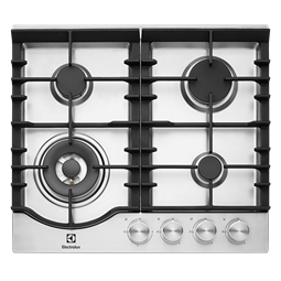 60cm 4 Burner Gas Cooktop With Front Controls