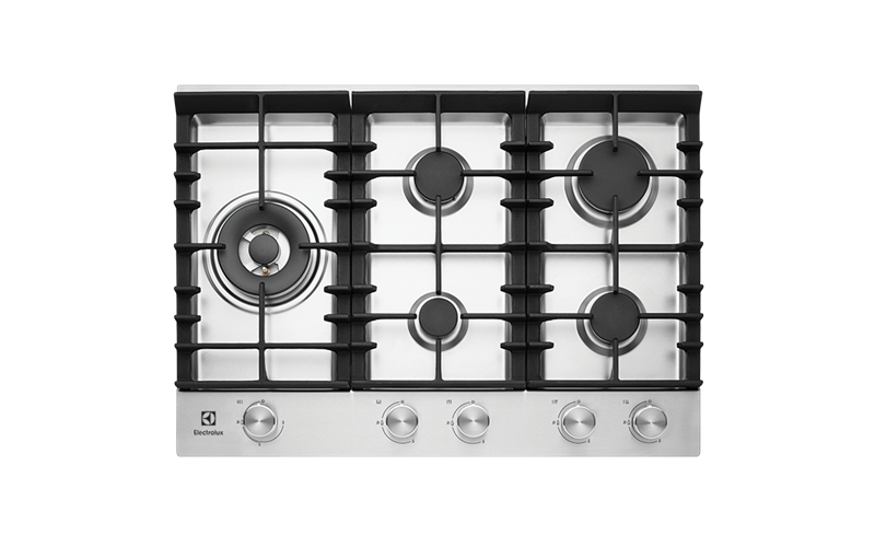 75cm 5 Burner Gas Cooktop With Front Controls Ehg755sa