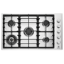 90cm 5 Burner Gas Cooktop With Side Controls