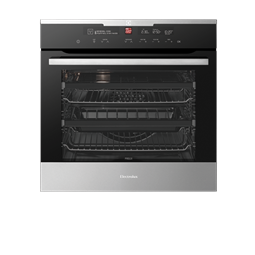 Black Pyrolytic Oven With Intuitive Oven Interface Control System