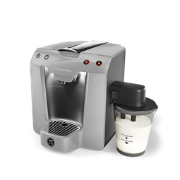 Lavazza A Modo Mio Premium Milk By Electrolux In Metallic Silver