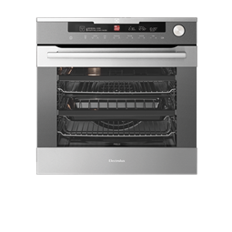 Stainless Steel Steam And Pyrolytic Oven With Intuitive Oven Interface Control System
