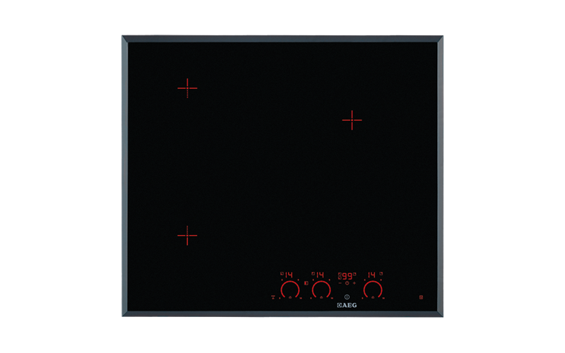 AEG 60cm Pure 3 OptiZone induction cooktop  HK673520FB
