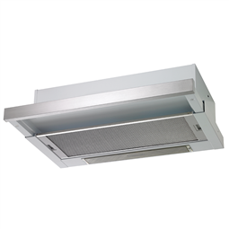 60cm slide-out rangehood, stainless steel