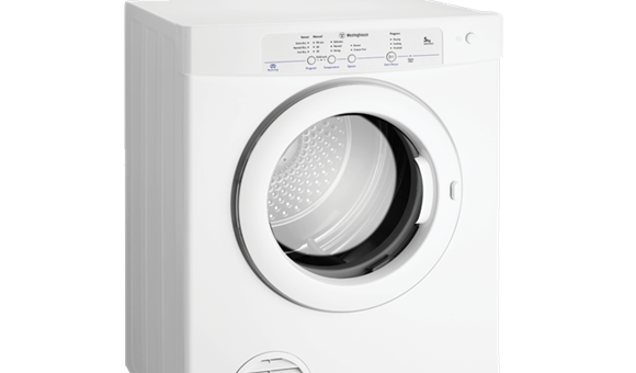 electronic sensor 5kg clothes dryer wdv5051 westinghouse new zealand rh westinghouse co nz