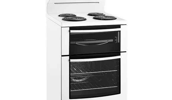 60cm Electric oven with coil hob (WLE625WA) - Westinghouse