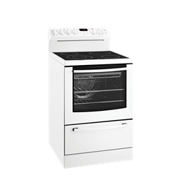 Apollo 60cm Freestanding Electric Cooker with separate warming drawer