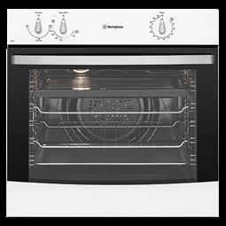White fan forced oven