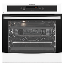 White multifunction PyroClean oven