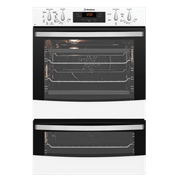 White multifunction duo oven