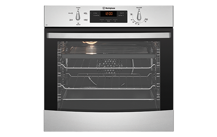 stainless steel multifunction oven wve615s westinghouse new zealand rh westinghouse co nz Westinghouse Roaster Oven Westinghouse Parts Online