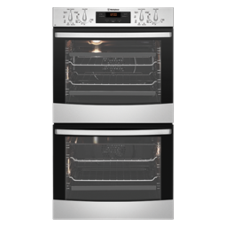 Stainless steel multifunction double oven