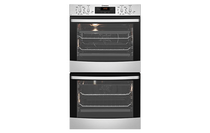 Stainless steel multifunction double oven (WVE636S