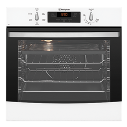 White multifunction oven