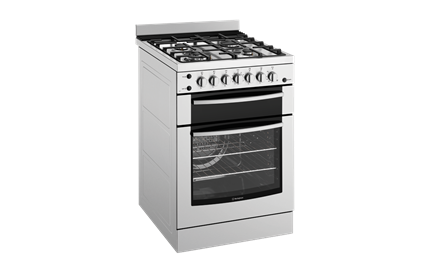 60cm Gas oven with gas hob (WFG617SA) - Westinghouse Australia