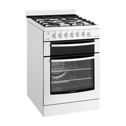 60cm Gas oven with gas hob